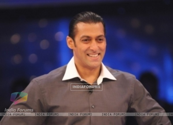Salman Khan as a host