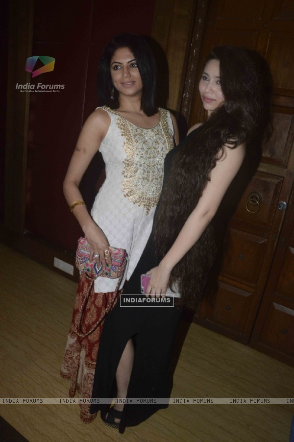 Kavita Kaushik and Sasha Agha at Gopi Bhalla's Birthday Bash