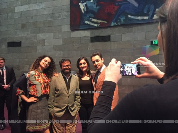 Team Katti Batti for Promotions at the Indian Film Festival of Melbourne