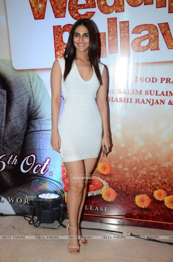 Vaani Kapoor at Trailer Launch of the film Wedding Pulav