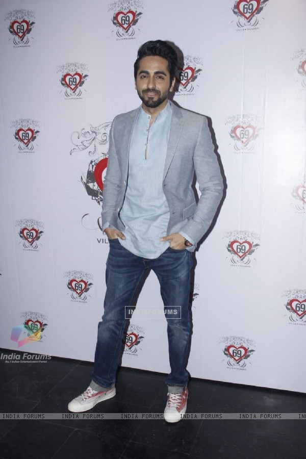 Ayushmann Khurrana at Ken Ghosh's Birthday Bash