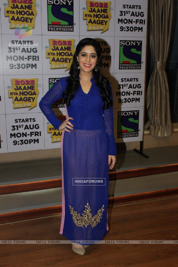 Garima Jain at Launch of Sony Tv's New Show 'Jaane Kya Hoga Aage'