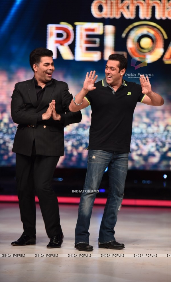 Salman Khan for Promotions of Hero on Jhalak Dikhla Jaa 8