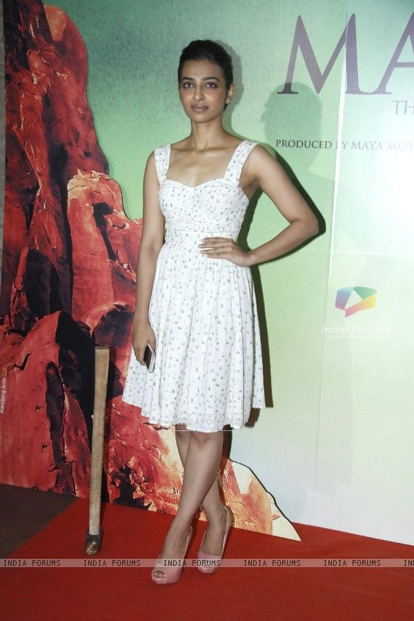 Radhika Apte at Screening of Manjhi - The Mountain Man