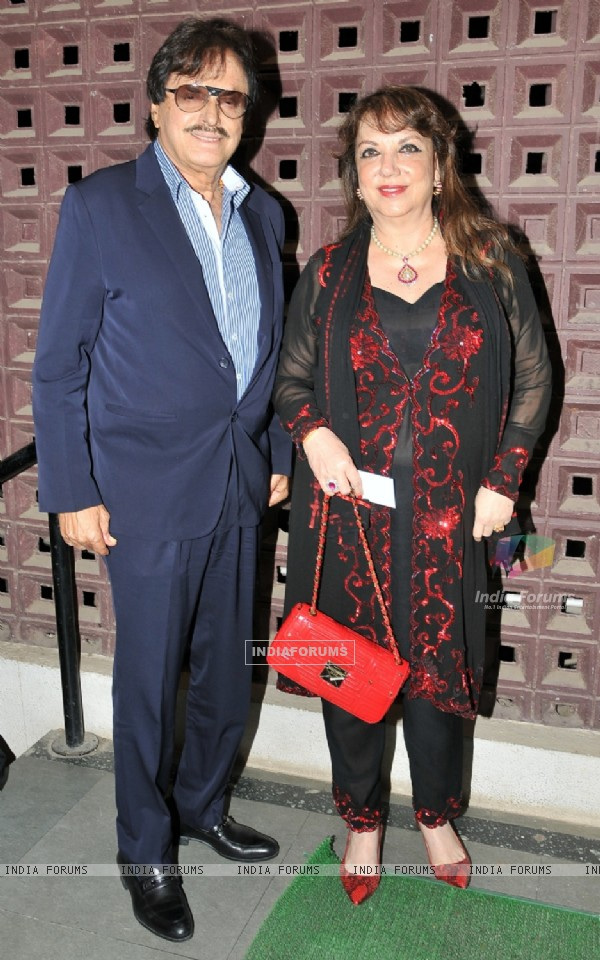 Sanjay Khan and Zarine Khan at 'Yeh Sham Mastaani' Evening