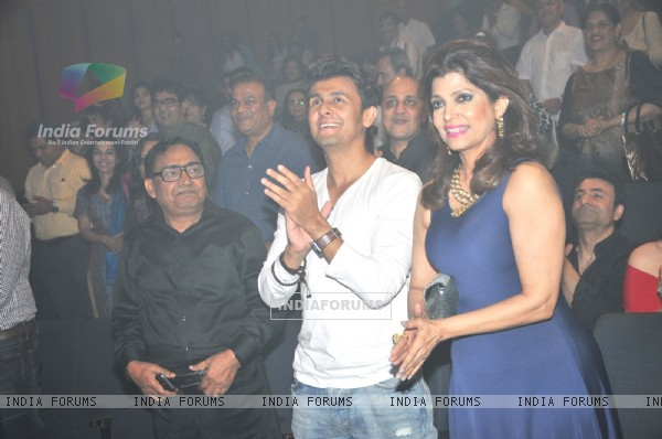 Sonu Nigam and Bina Aziz at 'Yeh Sham Mastaani' Evening