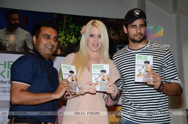 Sidharth Malhotra at Healthy Kitchen Book Launch by Celebrity Nutritionist Marika Johansson