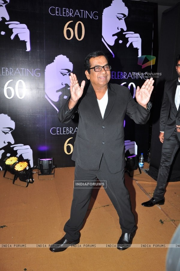 Brahmanandam at Chiranjeevi's 60th Birthday Celebrations