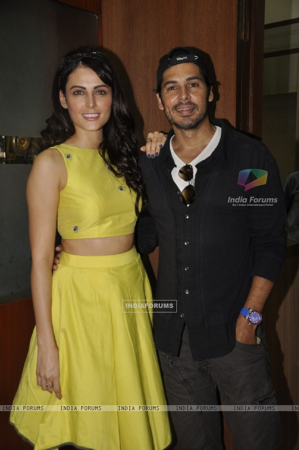 Dino Morea and Mandana Karimi at KC College