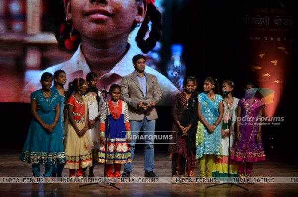 Sangram Singh at Girl Child Event