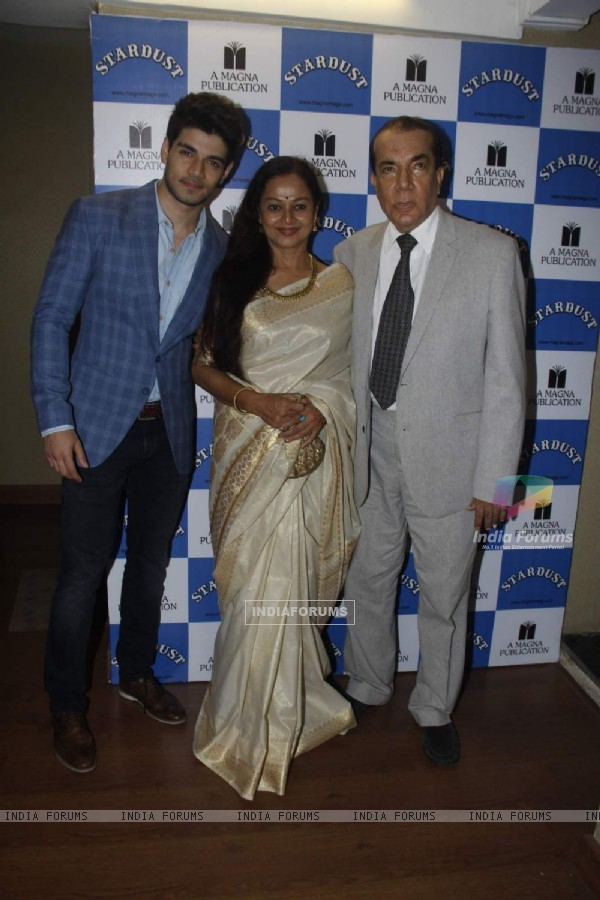 Sooraj Pancholi and Zarina Wahab at Stardust Cover Launch