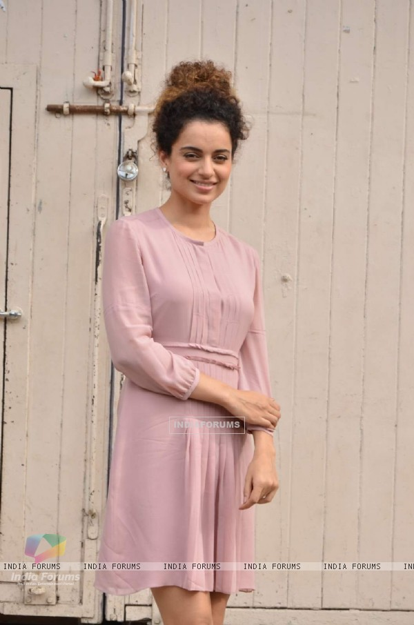 Kangana Ranaut at the Photo Shoot of Katti Batti