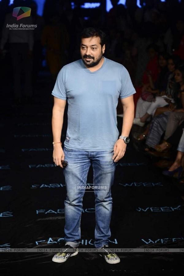 Anurag Kashyap walks the ramp at Lakme Fashion Week Day 4