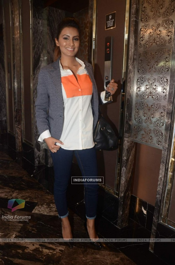 Geeta Basra at Lakme Fashion Week Day 5