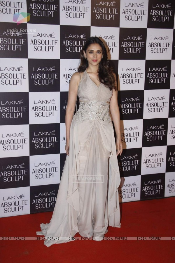 Aditi Rao Hydari at the Lakme Fashion Week Day 5