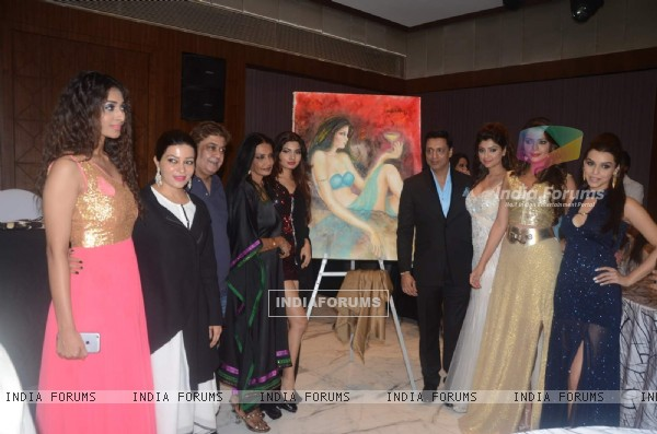Madhur Bhandarkar's Calendar Girls at Tarun Sarda's Martin Queen's Exhibition