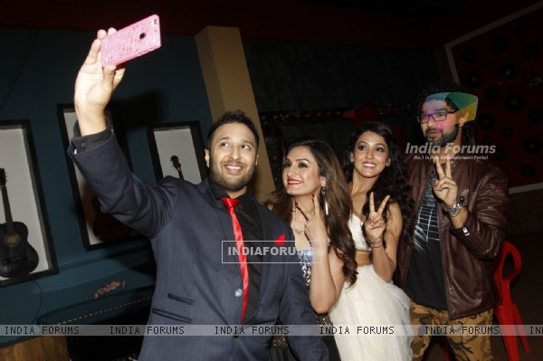 Ash King, Aakriti Kakkar, Neeti Mohan and Siddharth Mahadevan at Grand Finale of The Voice : India