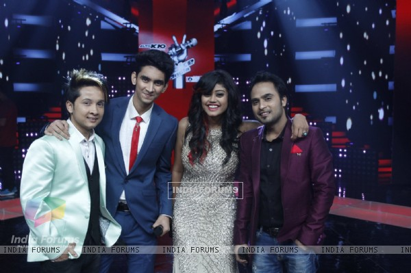 Final Contestants of Grand Finale of The Voice : India