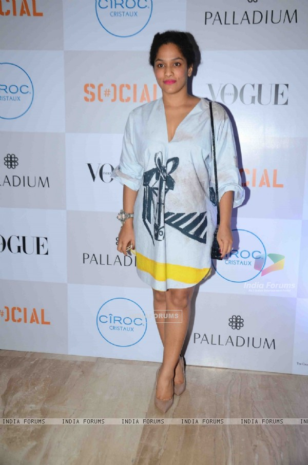Masaba Gupta at Fashion's Night Out by Vogue India