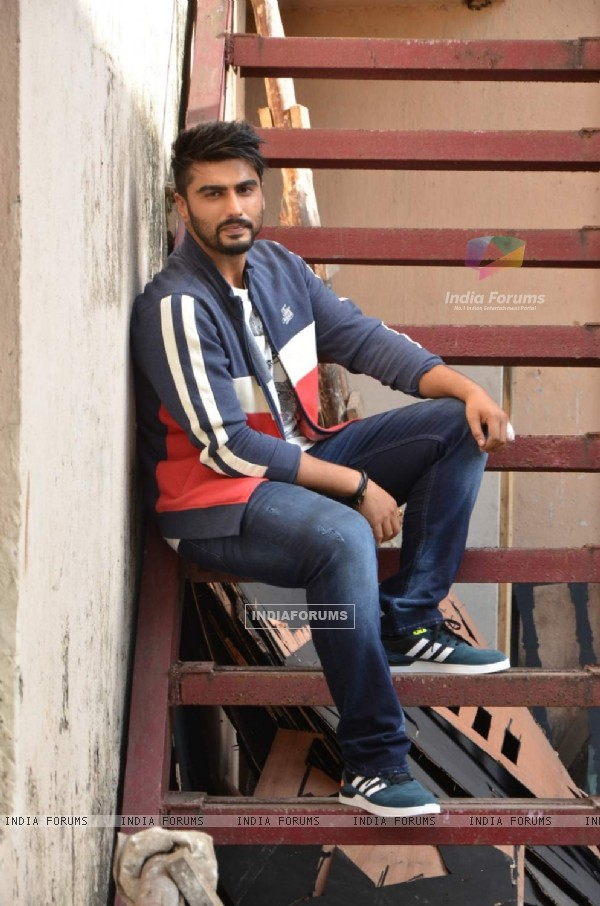 Arjun Kapoor Shoots for Flying Machine