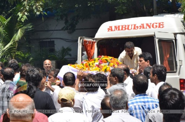 Aadesh Shrivastava's body arrives