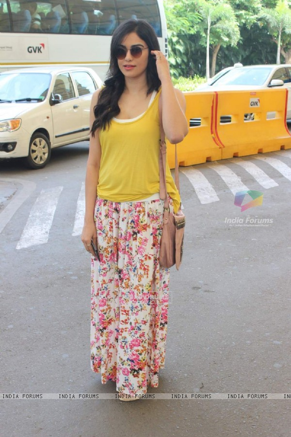 Adah Sharma Snapped at Airport