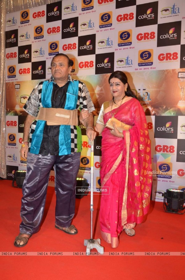 Jayshree T at GR8 ITA Awards