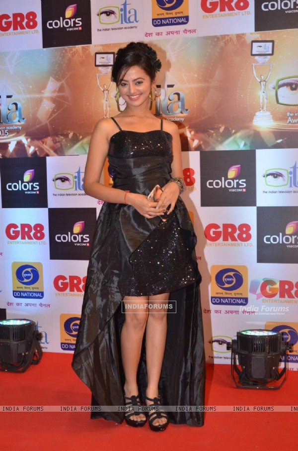 Helly Shah at GR8 ITA Awards
