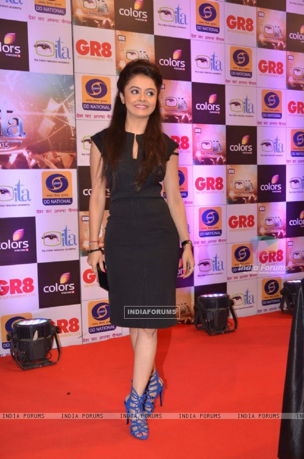 Devoleena Bhattacharjee at GR8 ITA Awards