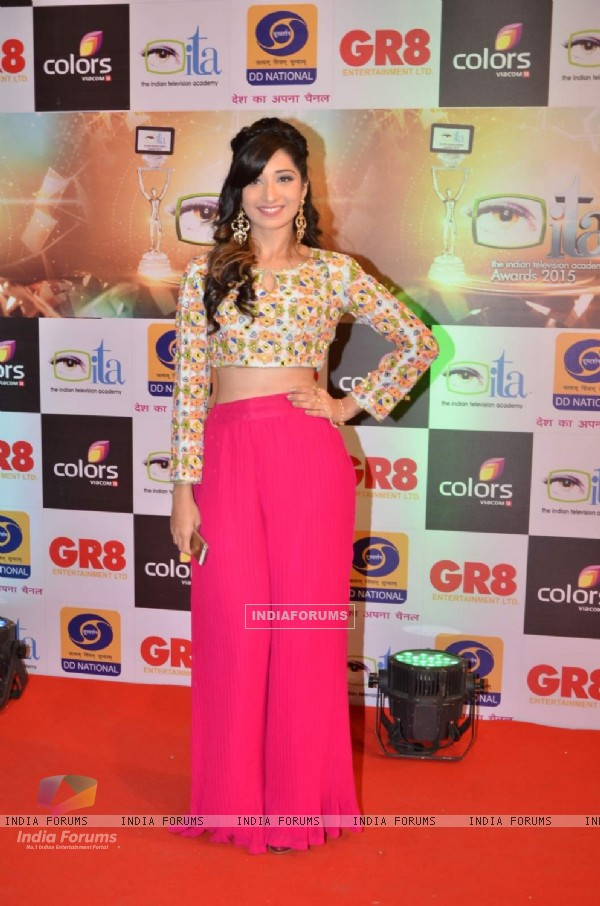 Vrushika Mehta at GR8 ITA Awards