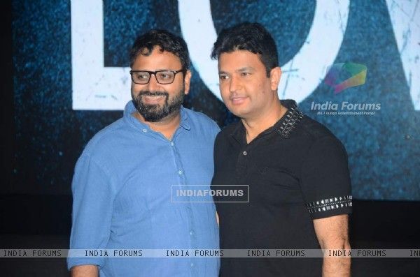 Nikhil Advani and Bhushan Kumar at Music Launch of 'Hero'