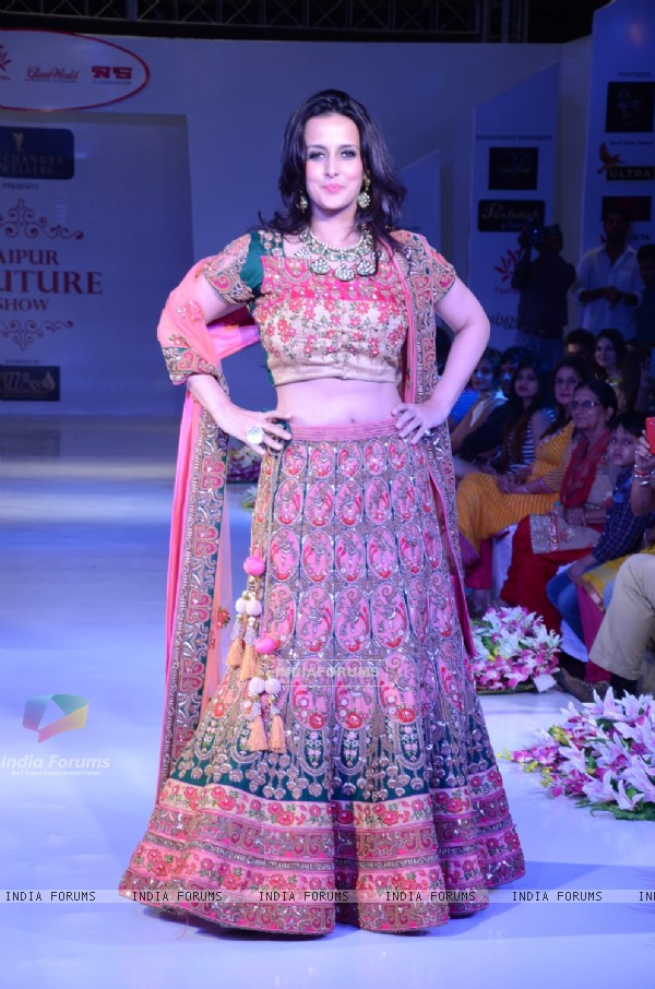 Tulip Joshi at Jaipur Couture Show