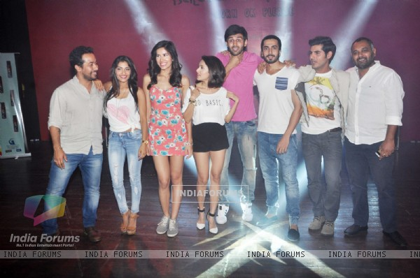 Cast of Pyaar Ka Punchnama 2 at Sophia College for Promotions