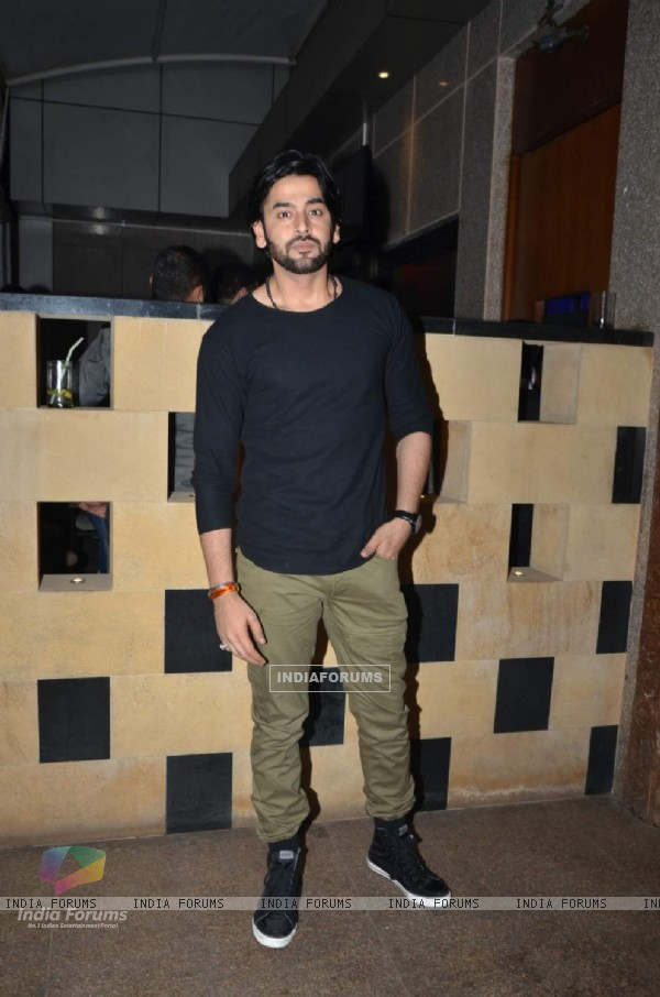 Shashank Vyas at Sargun Mehta's Birthday Bash