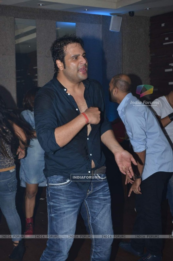 Krushna Abhishek at Sargun Mehta's Birthday Bash