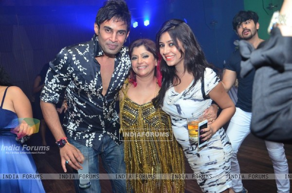 Rahul Raj and Pratyusha Banerjee at Janvi Vora's Birthday Bash