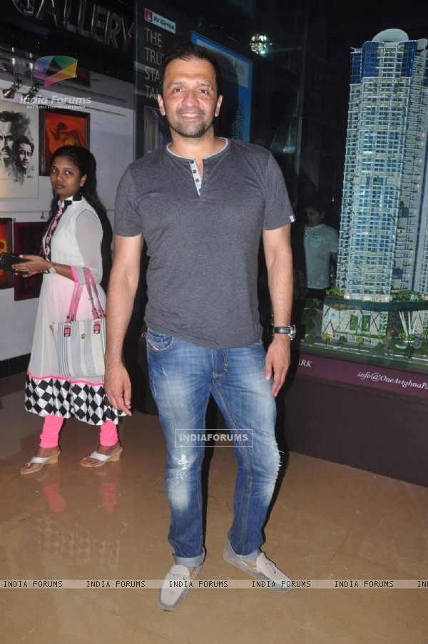Atul Kasbekar at Special Screening of 'Hero'
