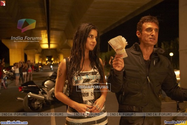 Rahul Dev with Katrina Kaif