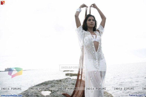 Lara Dutta looking gorgeous in white