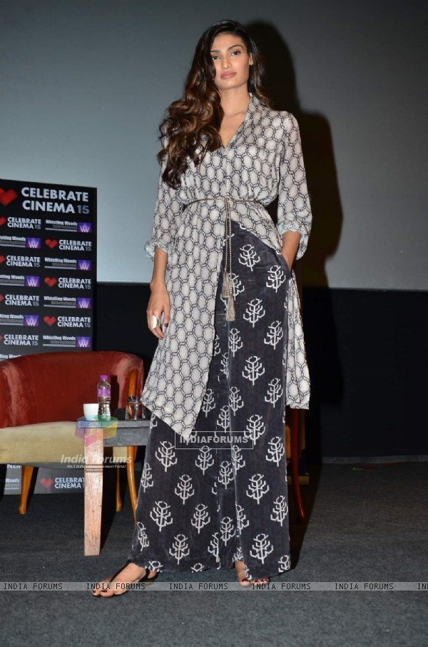 Athiya Shetty at Whistling Woods