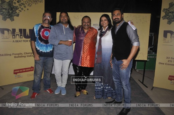 Celebs from Music Industry at Dhun - A Musical Evening
