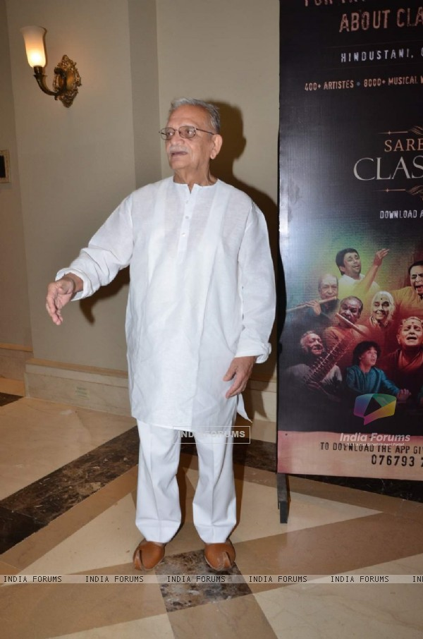 Gulzar at Saregama Launches Classical Music App