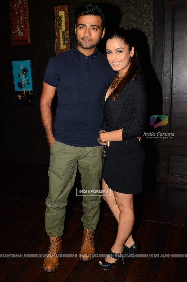 Srishti Rode and Manish Nagdev at Munisha Khatwani's Birthday Bash