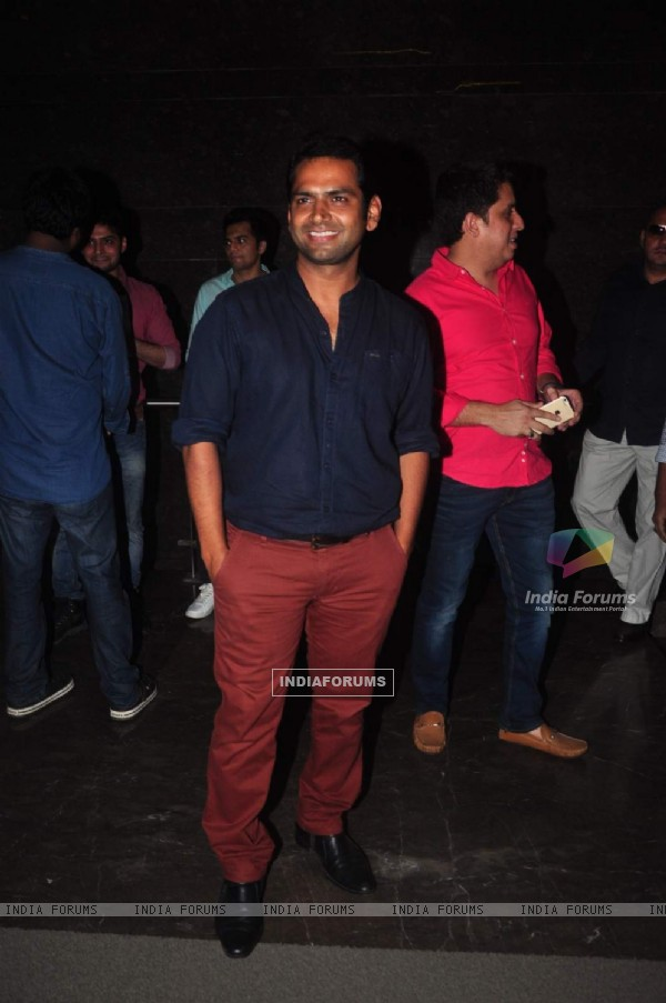 Sharib Hashmi at the Premiere of Meeruthiya Gangsters
