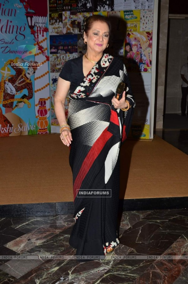 Saira Banu at the Launch of Sakshi Salve's Book 'The Big Indian Wedding'