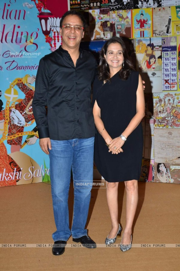 Vidhu Vinod Chopra at Launch of Sakshi Salve's Book 'The Big Indian Wedding'