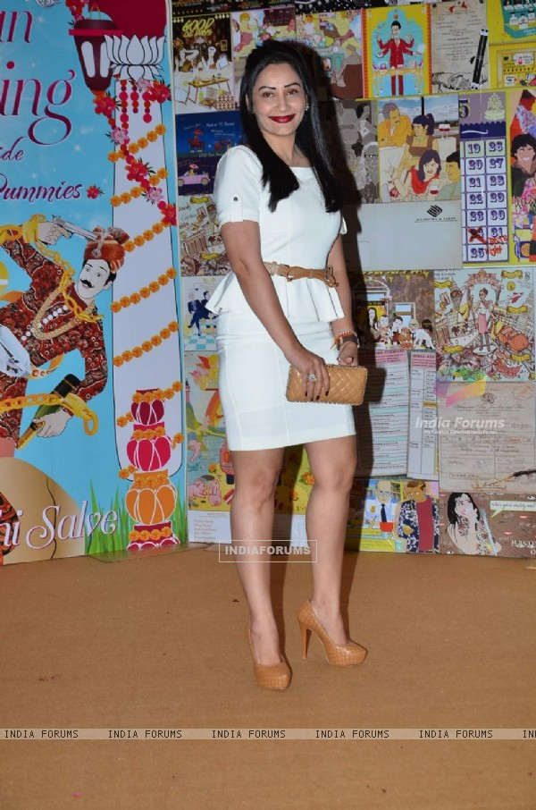 Manyata Dutt at Launch of Sakshi Salve's Book 'The Big Indian Wedding'