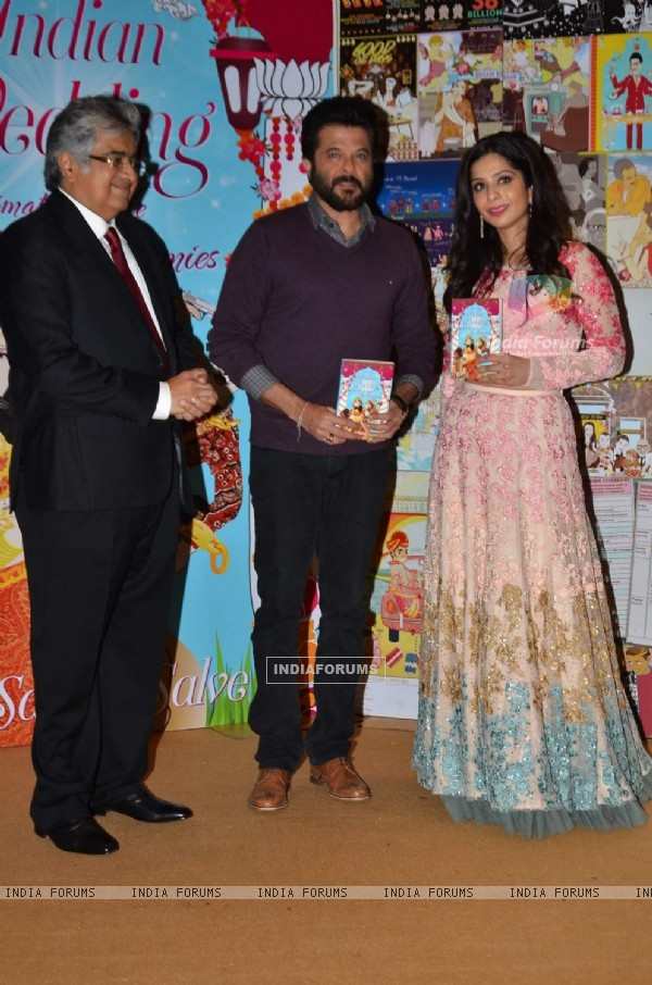 Anil Kapoor at Launch of Sakshi Salve's Book 'The Big Indian Wedding'