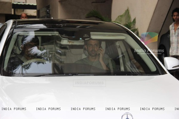 Hrithik Roshan at Sonali Bendre's Ganesh Chaturthi Celebration