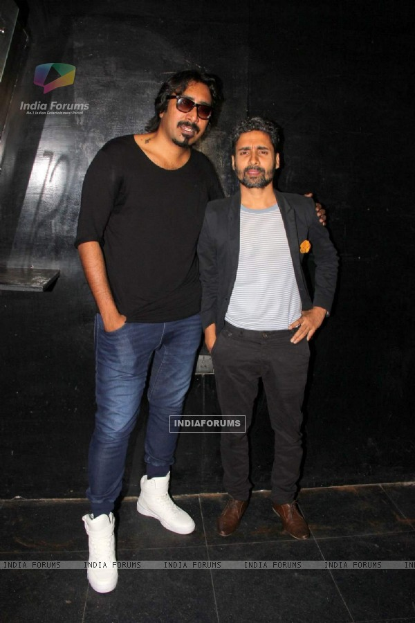 Chandan Roy Sanyal at Jazbaa Bash